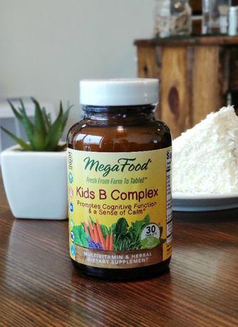 MegaFood, B комплекс для детей, США, 30 таблеток