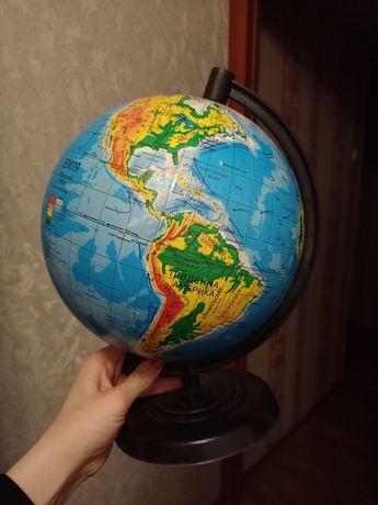 Глобус среднего размера