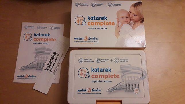 Katarek complete. Aspirator do nosa