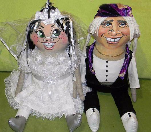 Игрушка Невеста и Жених .Авторская работа. Цена за пару