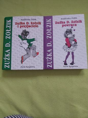 Barbara Park Zuźka D. Zołzik 2 sztuki