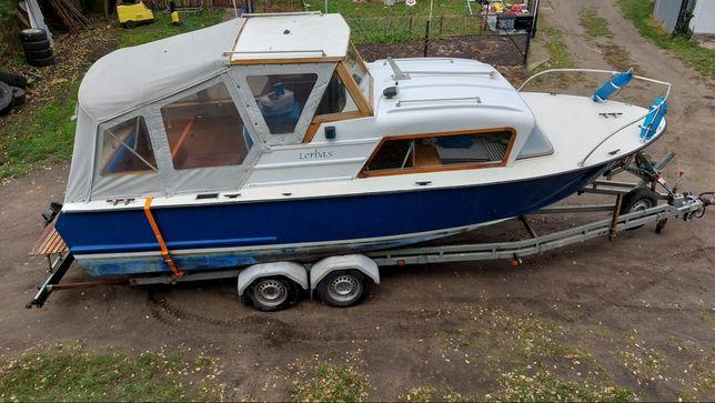 Jacht motorowy łódź kabinowa Coronet 22 volvo penta.