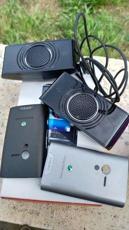 Lote de 4 telemóveis