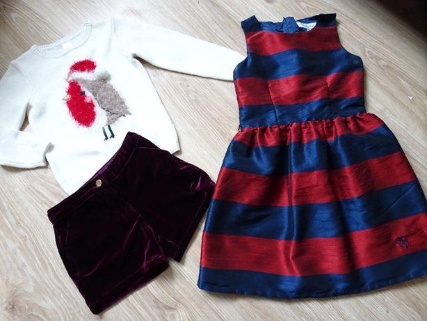 Kappahl sukienka sukieneczka wizytowa święta 128/134