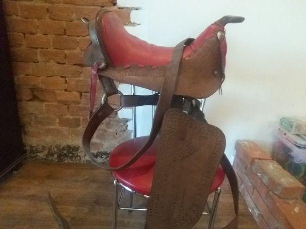 Siodło westernowe, na rekonstrukcję z Argentyny