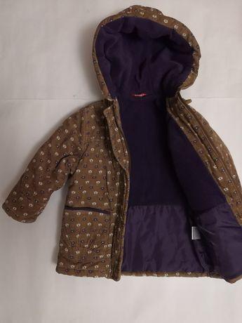 Курточка на дівчинку ростом 92-98 см.