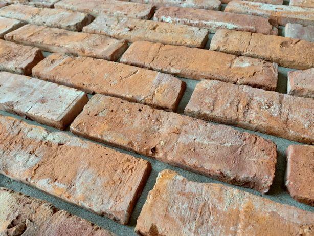 Płytki z cegły cięta cegła rozbiórkowa DOSTĘPNA od RĘKI w GDAŃSKU