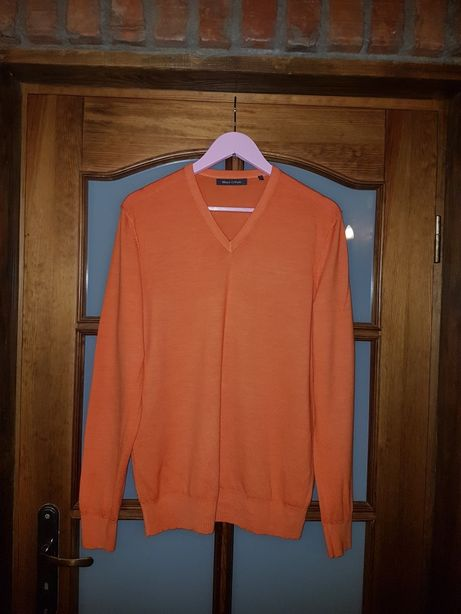 Sweter jak nowy MarcOpolo L 100%welna