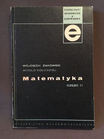 Matematyka cz II, Żakowski, Kołodziej