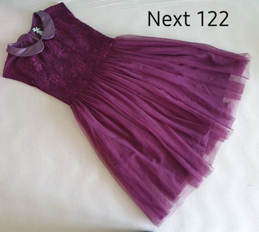 Next sukienka tiul, koronka 122 jak nowa