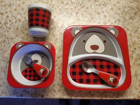 Посуда скип хоп, мишка