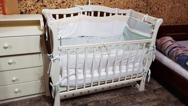 Комплект бортиков для детской кроватки