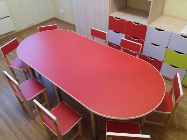 Стол. Детский стол. Мебель для детского сада. Столик стульчик.
