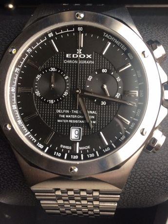 Швейцарские оригинальные мужские часы ЕDOX