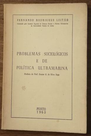 problemas sociológicos e de política ultramarina, fernando r. leitão