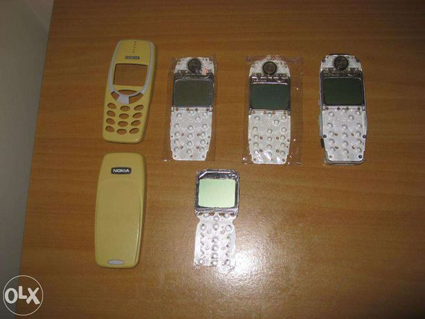 Displeys para nokia 3310 e capas de origem 3310