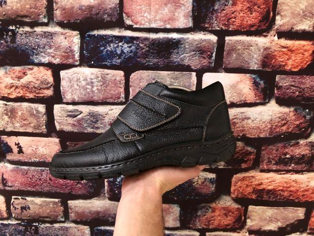 Мужские кожаные зимние ботинки Rieker Размер 44 ( Швейцария ) Новые