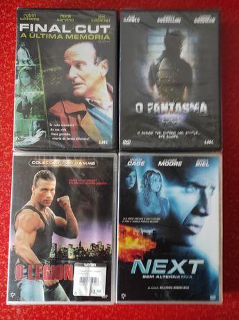 DVDs ainda selados
