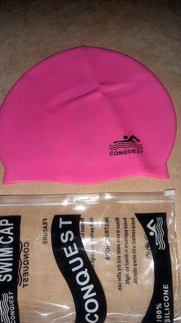 шапочка для плаванья conquest