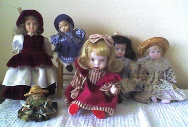 Bonecas de Louça