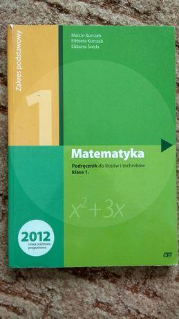 Podręcznik Matematyka 1 Pazdro Podstawa