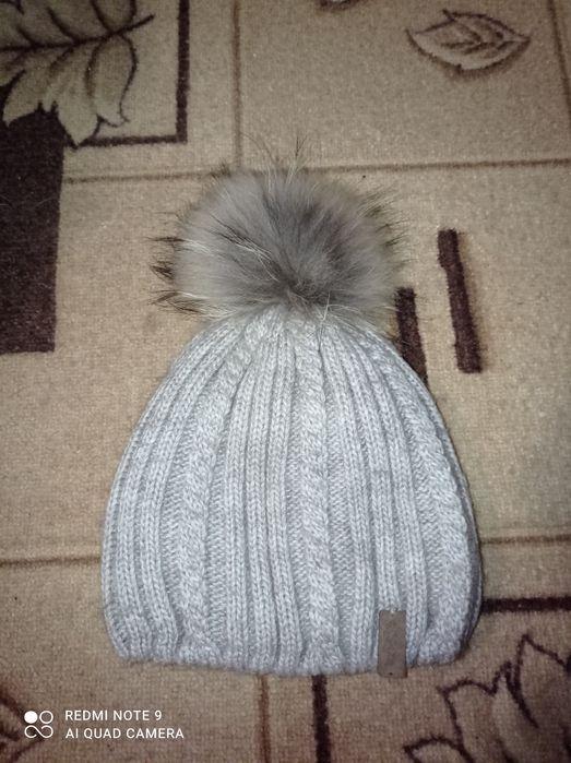 Зимова шапка на дівчинку Казатин - изображение 1