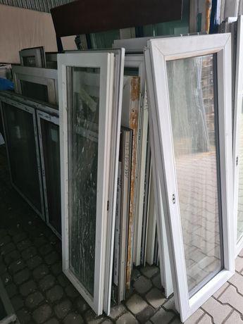 Okna pcv używane z demontażu fix