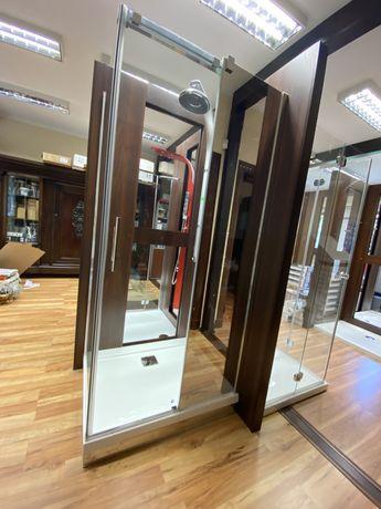 Radaway Espera KDJ Mirror 100x80 kabina prysznicowa z ekspozycji -40%