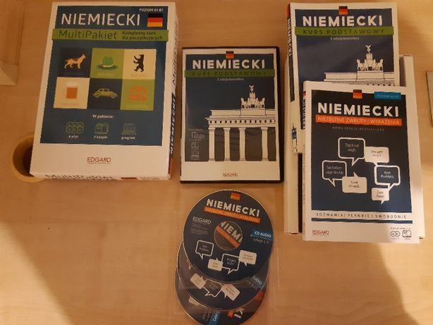 MultiPakiet. Niemiecki. Poziom A1-B1 .Wydawnictwo EDGARD.