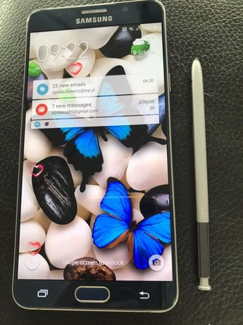 MEGA DUŻY wyświetlacz SAMSUNG Note 5 z rysikiem