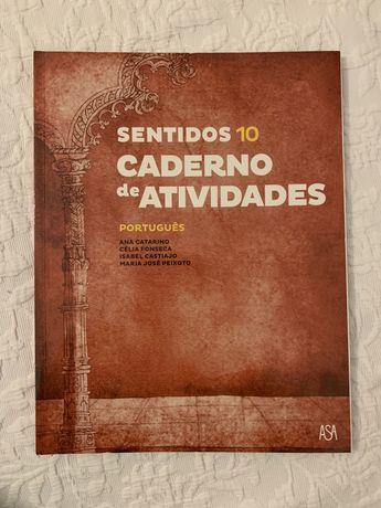 Sentidos Português 11º Ano - Caderno de Atividades - NOVO