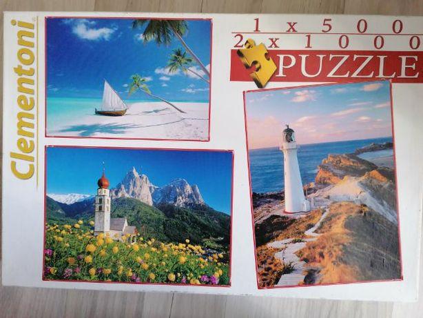 Puzzle 500/1000 sztuk
