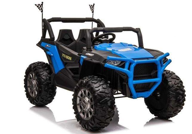Auto Na Akumulator # Buggy 4X4 # Skóra # Pilot # Silniki 4x45W