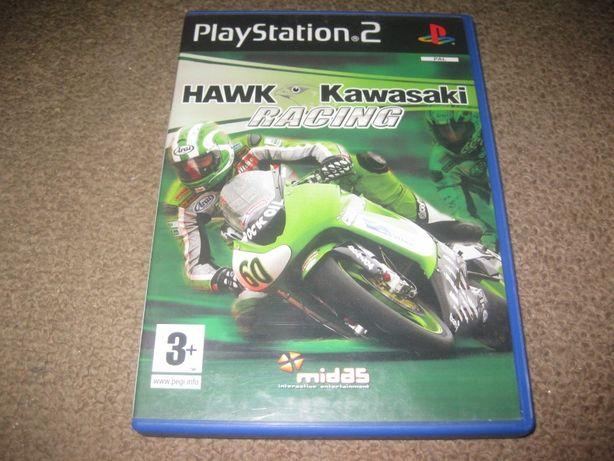 """Jogo """"Hawk Kawasaki Racing"""" para PS2/Completo!"""