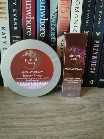 Avon zestaw balsam krem do rąk aromatherapy planet spa beauty sleep