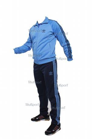 Adidas 80s classic(голубой) Спортивный костюм Австрия эластик