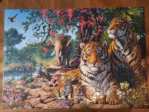 Puzzle kompletne Corner Piece 1000
