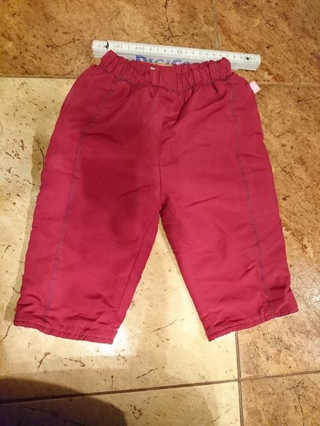 Cieplejsze spodnie (nie za grube) 68