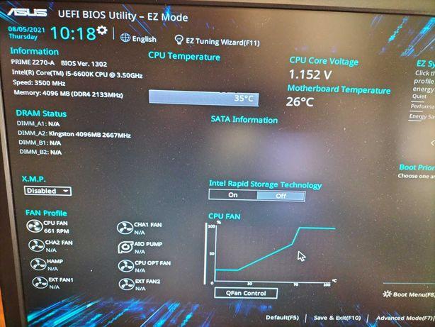 Motherboard Asus Prime Z270-A
