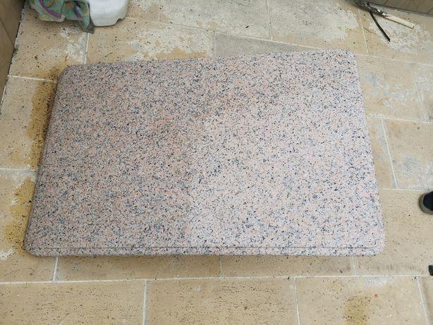 Mesa de jardim mármore ou vidro 125x80