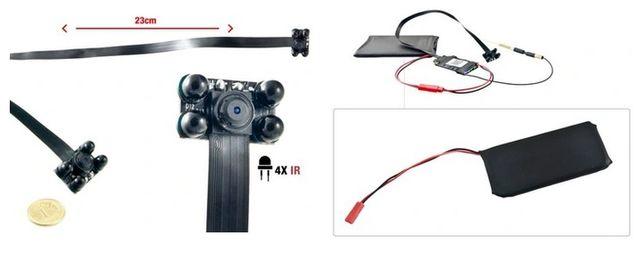 Mini kamera WIFI 1080P S06nb v4 4xIR black