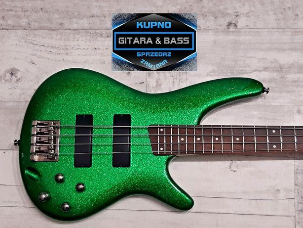 Piękna Gitara Basowa Ibanez SR300 -Green Bass- wysyłka Gratis -Zamiana