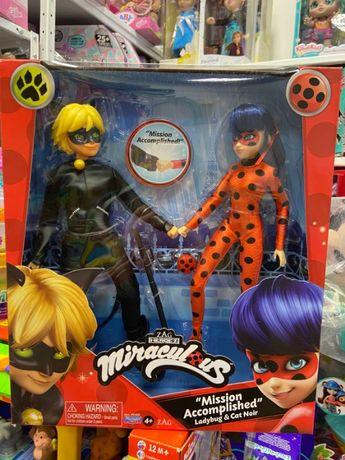 "Набор кукол Леди Баг и Супер-Кот"" S2 - Миссия выполнена 26 см"