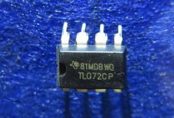 TL072 DIP Операционный Усилитель