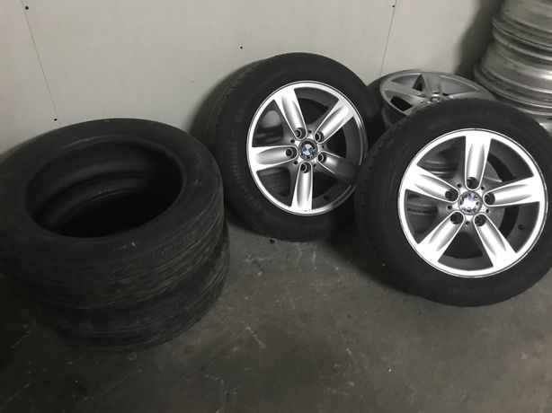 4 Jantes 16 c/ 4 pneus BMW 5x120