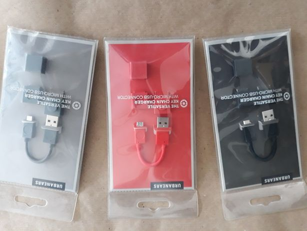 Cabos USB embalados
