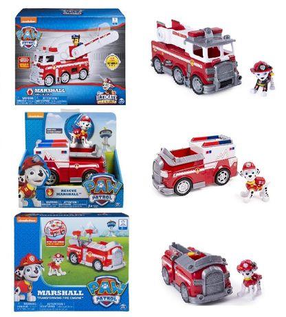 Щенячий патруль Маршал на скорой помощи и на пожарной машине оригинал