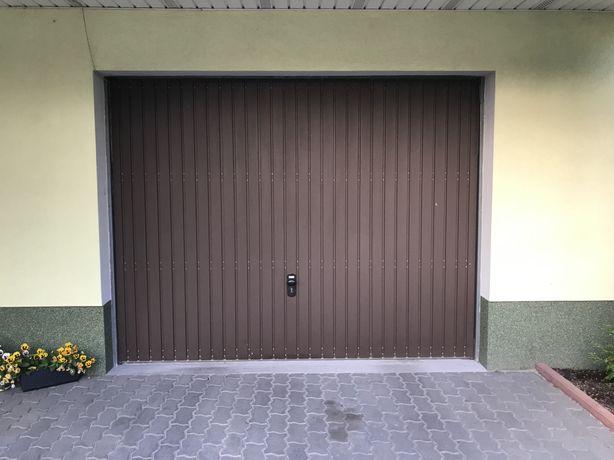 Drzwi garażowe, ocieplane. rozmontowane