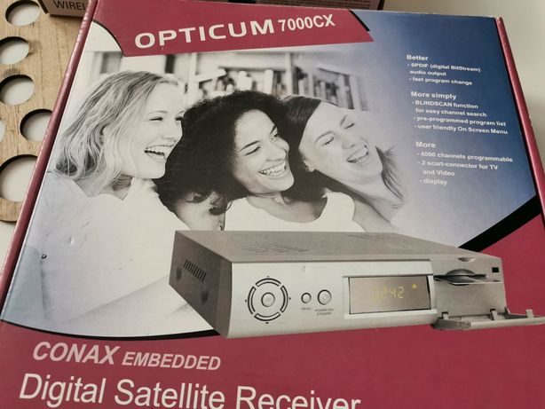 Odbiornik satelitarny TV Opticum 7000 CX