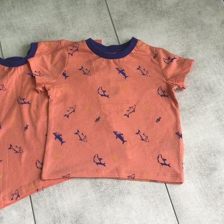Футболка дитяча, котонова футболка 3-6, 6-9 місяців